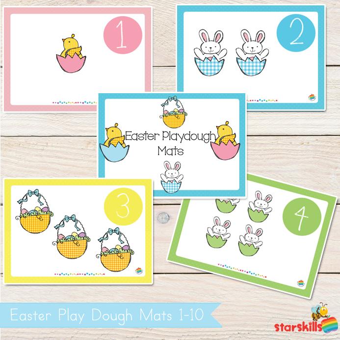 Easter-play-Dough-mats