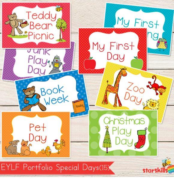 EYLF Special Days