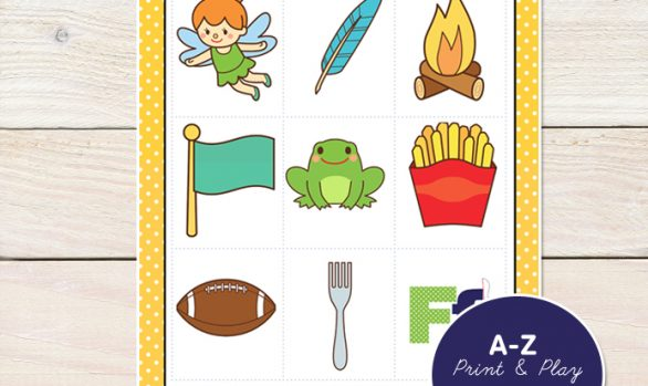A-Z Picture Memory Games