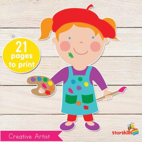Creative Artist Play Pack
