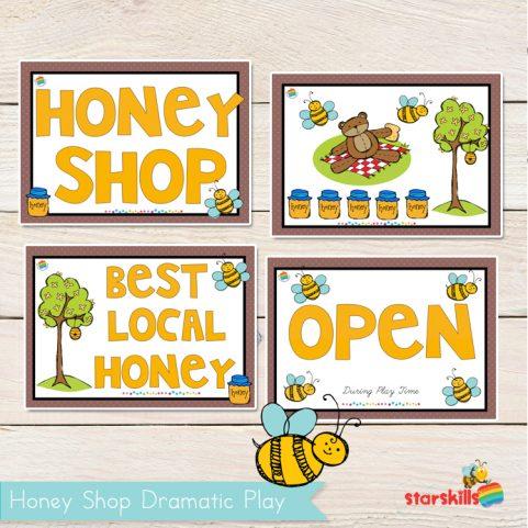 Honey Shop Play Pack