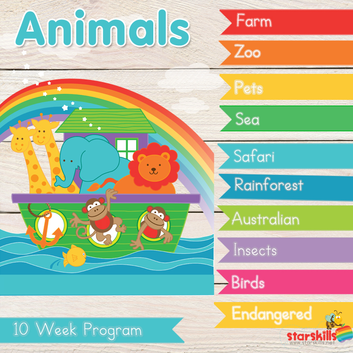 Animal-weeks-one-to-ten