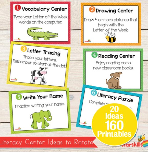20 Literacy Centres