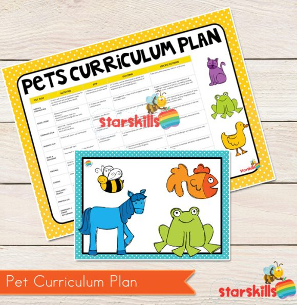 Pets Curriculum Plan