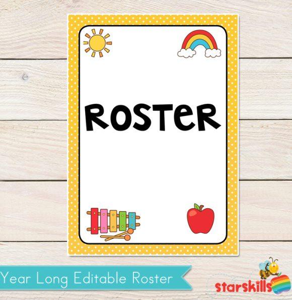 Roster - Editable