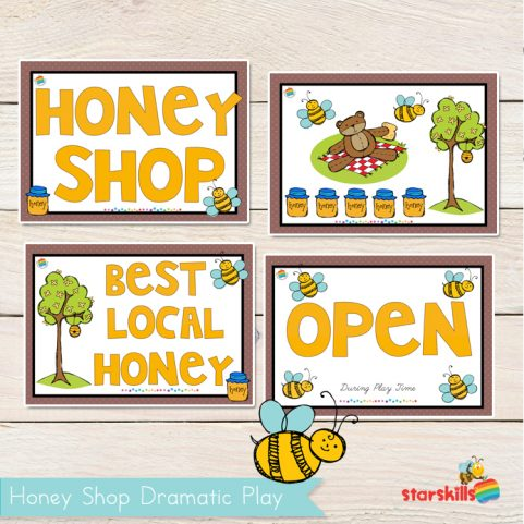 Honey Shop Play Pack